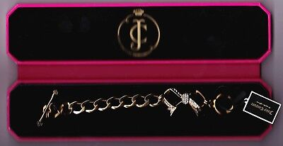 £15 • Buy  Juicy Couture Chunky Charm Type Bracelet