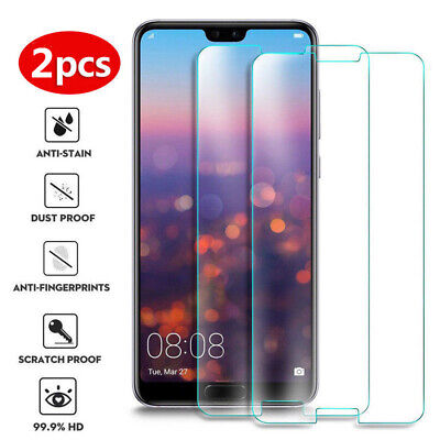 AU4.07 • Buy 2X Tempered Glass Screen Protector For Xiaomi Mi 9 8 SE 6 Plus 5 4S 3 2 F1 A1