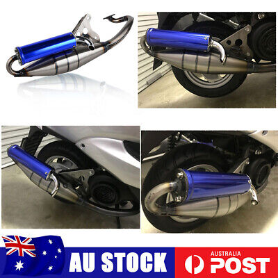 AU106.25 • Buy Exhaust System Muffler Pipe For Yamaha Jog 50cc Minarelli Scooter Moped 1E40QMB