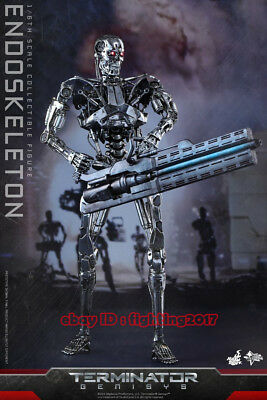 AU487.05 • Buy HotToys MMS352 Terminator Genisys 1/6 Scale Endoskeleton Collection Figure HT
