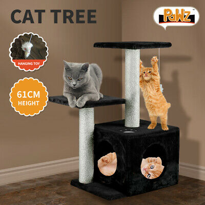 AU29.99 • Buy PaWz 61CM Cat Scratching Post Tree Gym House Condo Furniture Scratcher Tower