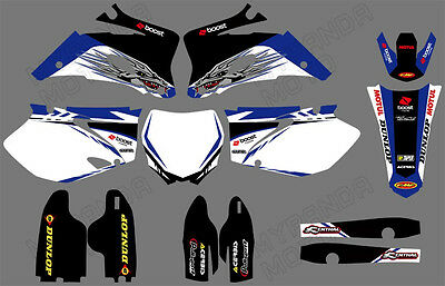 AU84.54 • Buy Graphics & Backgrounds Decals Stickers For YAMAHA YZ250F YZ450F 2006-2008 2009