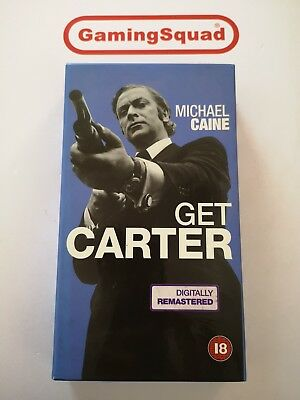Get Carter (Cardboard) VHS Video Retro, Supplied By Gaming Squad  • 2.99£