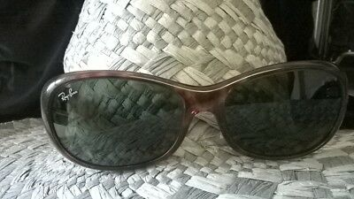 9e5a34a0ff7 Ray-Ban Polarized Tortoise Sunglasses. RB 4075 642 57 Made In Italy.