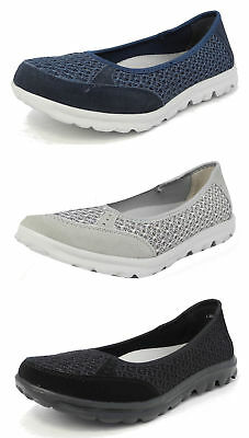 £22.99 • Buy Womens Arch Support Lightweight Leather Mesh Shoes Pumps Memory Foam Size 3-9