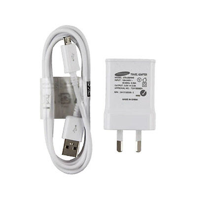 AU11.75 • Buy Genuine Samsung USB 2A AC Wall Charger + Data Cable For Galaxy S4 S5 S6 Note 4