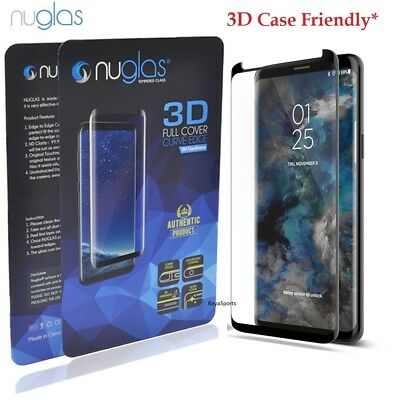 AU8.85 • Buy NUGLAS Tempered Glass Screen Protector Samsung Galaxy Note 20 S10 Plus 5G 9 8