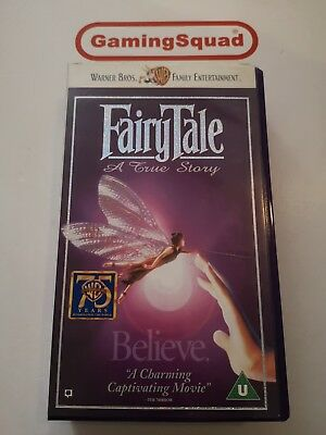 Fairytale - A True Story VHS Video Retro, Supplied By Gaming Squad  • 5.99£