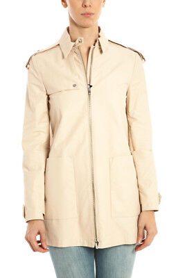 Giubbotto Trench Armani Jeans Jacket Cotone MADE IN ITALY Uomo Beige  A5L01HD 51 • 153.00€ dfb707ddceb