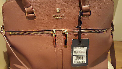 £90 • Buy Modalu Pippa Leather Grab Bag In Mauve Pink. New With Tags.
