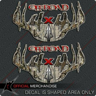 $24.99 • Buy Camouflage 4x4 Truck Decal Archery Hunting Bow Deer Sticker For Hoyt PSE Mathews
