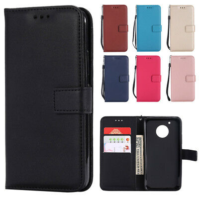 AU2.96 • Buy  For Motorola Moto E4 G4 G5 G6 C Plus Z Force Wallet Case Leather Flip Cover