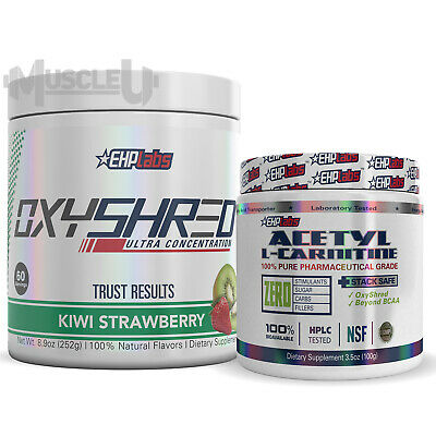 AU93 • Buy EHPlabs OxyShred + Acetyl L-Carnitine - CHOOSE FLAVOUR - EHP Labs Oxy Shred ALC