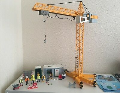 £74.99 • Buy Playmobil - 3260 - 3262 - 3275 - Construction Office - Crane (not Working)