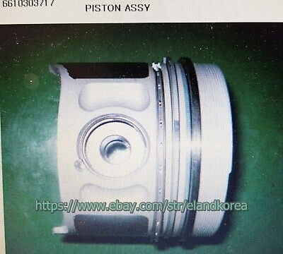 AU234.99 • Buy Genuine Piston Assy For Ssangyong MUSSO SPORTS,KORANDO,REXTON 662LA  #6610303717