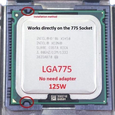 $ CDN24.72 • Buy Intel Xeon X5450 3.0GHz Quad-core Processor Compatible LGA775 Ultra Q9550. Q9650