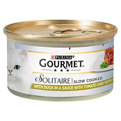 Gourmet Solitaire Duck And Vegetables, 85 G - Pack Of 12 • 12.76£