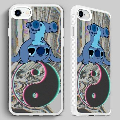 Lilo Stitch Ying Yang Disney QUALITY PHONE CASE COVER For IPHONE 4 5 6 7 8 X • 6.95£