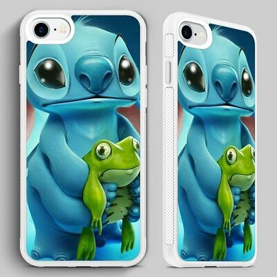 Lilo And Stitch Cute Funny Disney PHONE CASE COVER For IPHONE 4 5 6 7 8 X • 6.95£