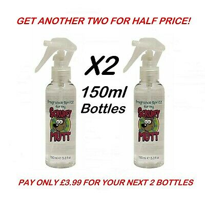 X2 Bottles Dog Perfume Cologne Fragrance Pet Professional Scent Spray Grooming  • 7.99£