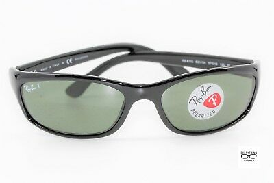 Ray Ban RB4115 601 9A Black Polarized Sunglasses New Authentic 57 • 99.00  48a2290a897a