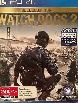 AU50 • Buy Watch Dogs 2 Gold Edition PS4