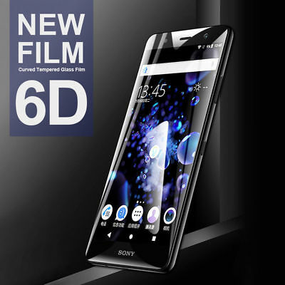 AU4.82 • Buy For Sony Xperia XA2 Ultra XZ2 Premium 6D Tempered Glass Full Screen Protective