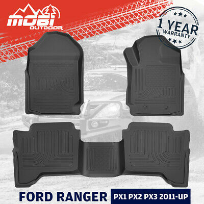 AU75.99 • Buy MOBI 3D Floor Mats For FORD RANGER PX XLS XLT XL Wildtrak Raptor 2011-UP