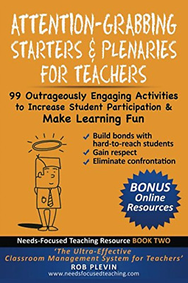 £13.24 • Buy Attention-Grabbing Starters & Plenaries For Teachers: 99 Outrageously Engaging