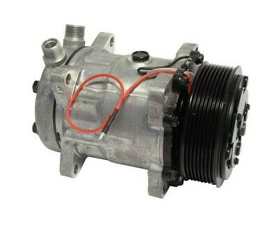 AU242.43 • Buy A/C Compressor SD7H15 Fits Sanden Style 12V 8 Groove Pulley 3/4  7/8  A/C Ports