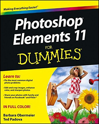 £67.85 • Buy Photoshop Elements 11 For Dummies