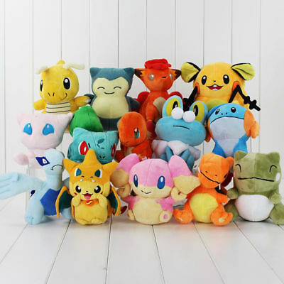 AU13.99 • Buy Rare Pokemon Collectible Plush Doll Character Soft Toy Stuffed Teddy Xmas Gift