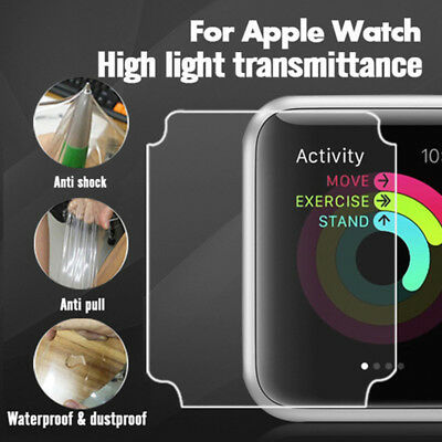 $ CDN0.99 • Buy 7H TPU Explosion-proof Screen For Apple Watch Series 1 2 3 4 Protector HD 2PCS