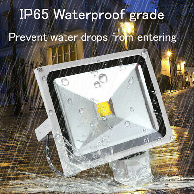 20W 30W 50W LED Security Flood Light Motion PIR Sensor Outdoor Garden Spotlight • 15.59£