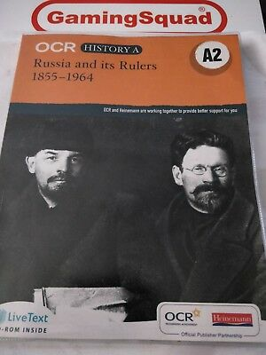 Russia And Its Rulers 1855-1964 -Book, Supplied By Gaming Squad Ltd • 3.50£