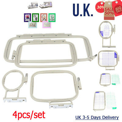 Embroidery Frame Hoops Set Fit For Brother Innovis Babylock Machine 4pc • 22.99£