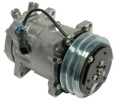 AU242.43 • Buy New A/C Compressor SD7H15 Sanden Style 12V 2 Groove Pulley 3/4  7/8  A/C Ports