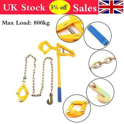 £20.02 • Buy Chain Strainer Monkey Cattle Wire Fence Pull Stretcher Tensioner Load 800kg