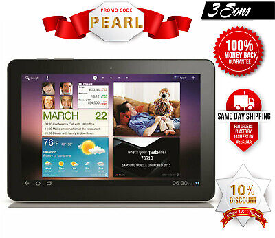 "AU129 • Buy Samsung Galaxy Tab 10.1"" GT-P7510 64GB Black 3MP 1GB RAM Tablet WiFi  AU Stock"