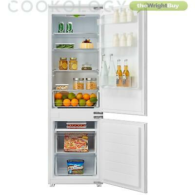 View Details Cookology CBIST70301 Built-in Refrigerator 70/30 Integrated Combi Fridge Freezer • 299.99£