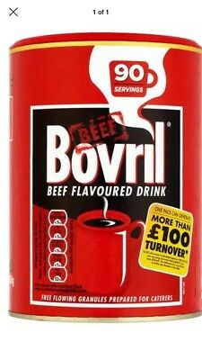 £26.99 • Buy BOVRIL BEEF FLAVOUR DRINK ( 450g )CATERING TUB GRANULES 90 SERVINGS