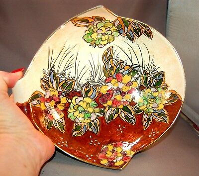 $ CDN140.03 • Buy STUNNING Art Deco Lusterware Royal Winton Grimwades England Bowl Carnation