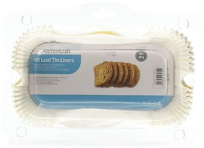 Non-Stick Grease Proof 1lb Or 2lb Paper Loaf Cake Tin Liners (Pack Of 40) - NEW! • 5.95£