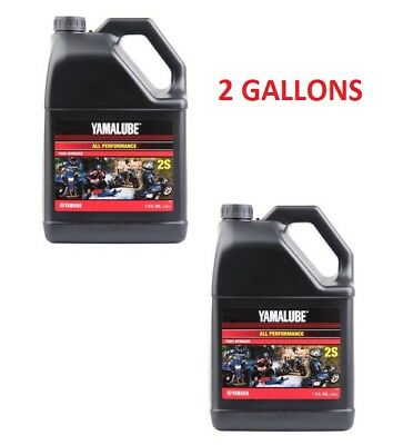 AU94.17 • Buy 2 Gallons Yamalube 2S 2 Stroke All Purpose Motorcycle Atv Snowmobile Oil 2-S