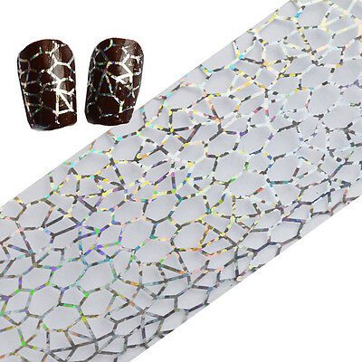 Laser Nail Art Foils Holographicsssss  Decal Irregular  Paper  • 1.09£