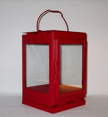 $27.50 • Buy Ikea SNOVITA Red Lantern Candle Holder Christmas Holidays RED Height 9 1/8