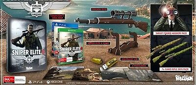 AU250 • Buy Sniper Elite 4 Collector's Edition PS4   ( Factory Sealed )