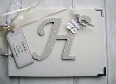 Personalised  Photo Album/scrapbook.memory Book. Any Letter. Hen Do/party • 16.99£