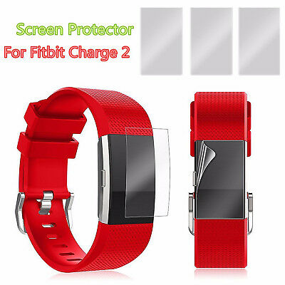 $ CDN6.80 • Buy 3 Anti-Scratch Waterproof Screen Protector Frosted Film Guard Fitbit Charge 2