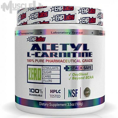 AU28 • Buy EHPlabs Acetyl L-Carnitine - 100 Serves UNFLAVOURED - EHP Labs ALCAR